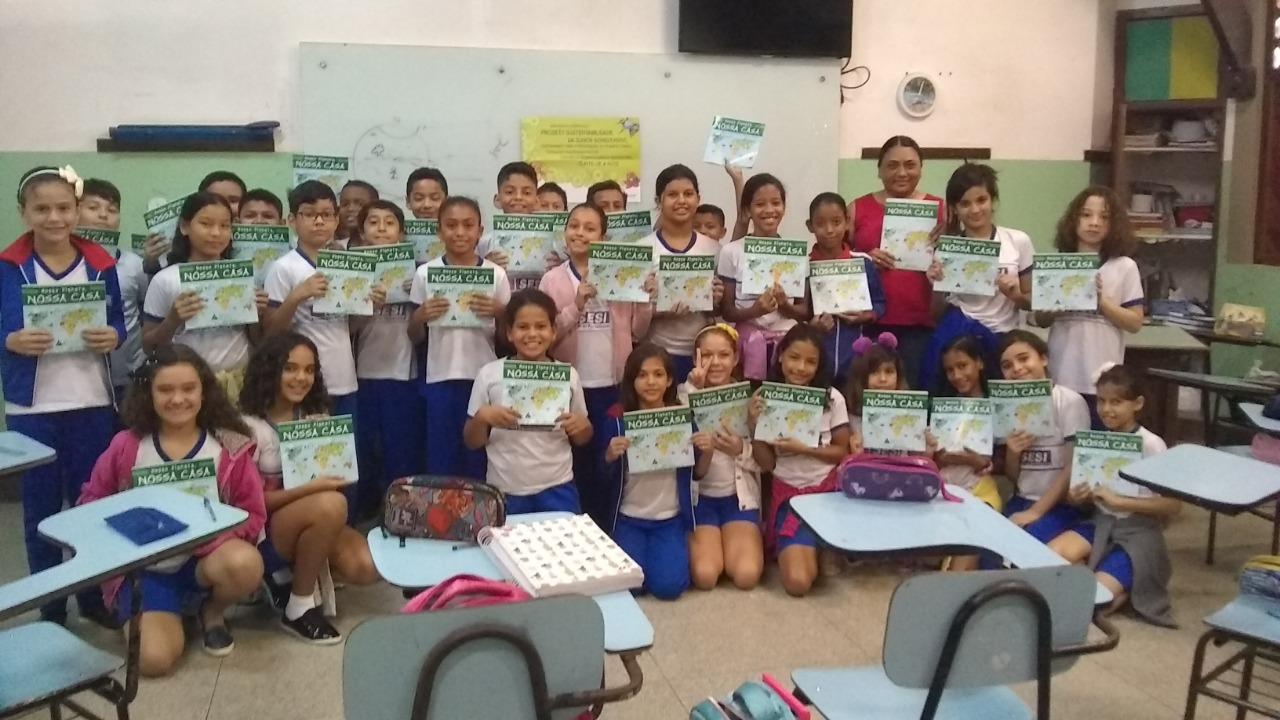 Nosso Planeta, Nossa Casa em parceria com o SESI PARÁ