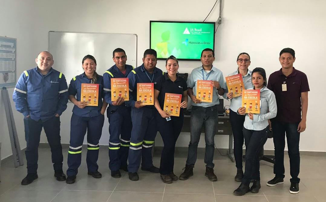 Treinamento de Voluntários em Itaituba-PA, parceria Hidrovias do Brasil