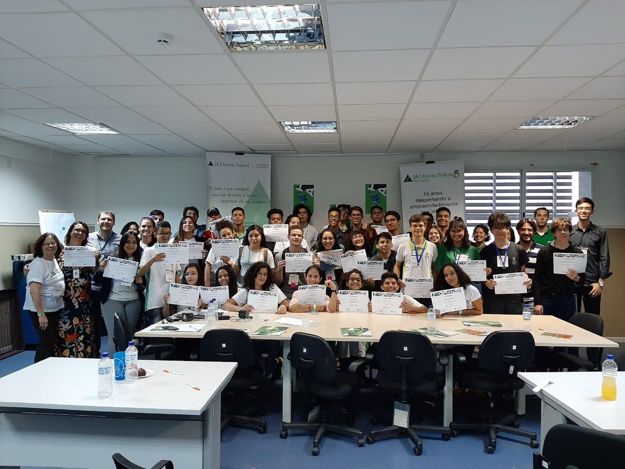 Instituto Federal de Brasília recebe Innovation Camp