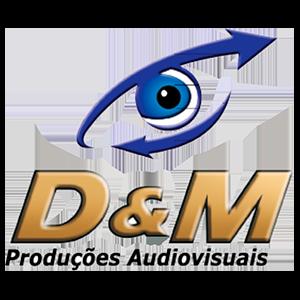 Logotipo D&M Produções Audiovisuais