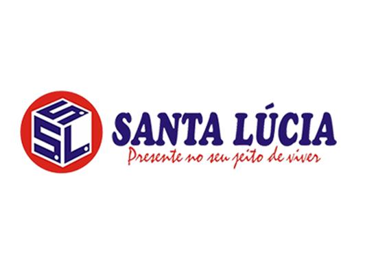 Logotipo Supermercado Santa Lúcia