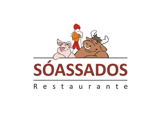 Logotipo Só Assados Restaurante