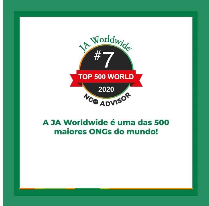 JA Worldwide está entre as ONGs mais impactantes pelo segundo ano consecutivo