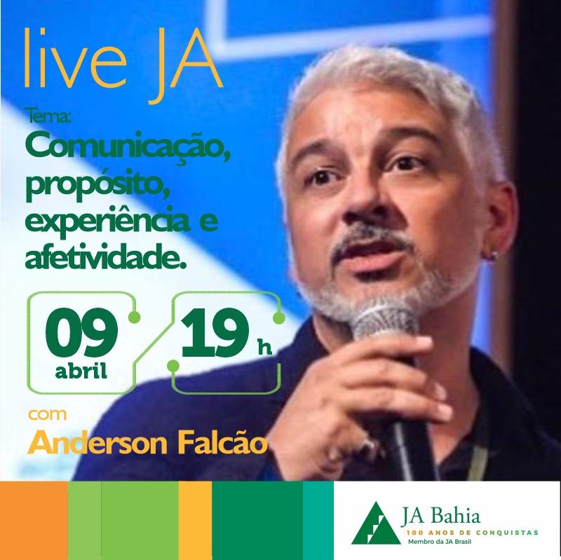 #LIVEJA com Anderson Falcão