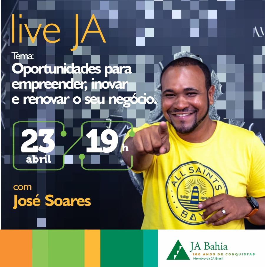 #LIVEJA com José Soares