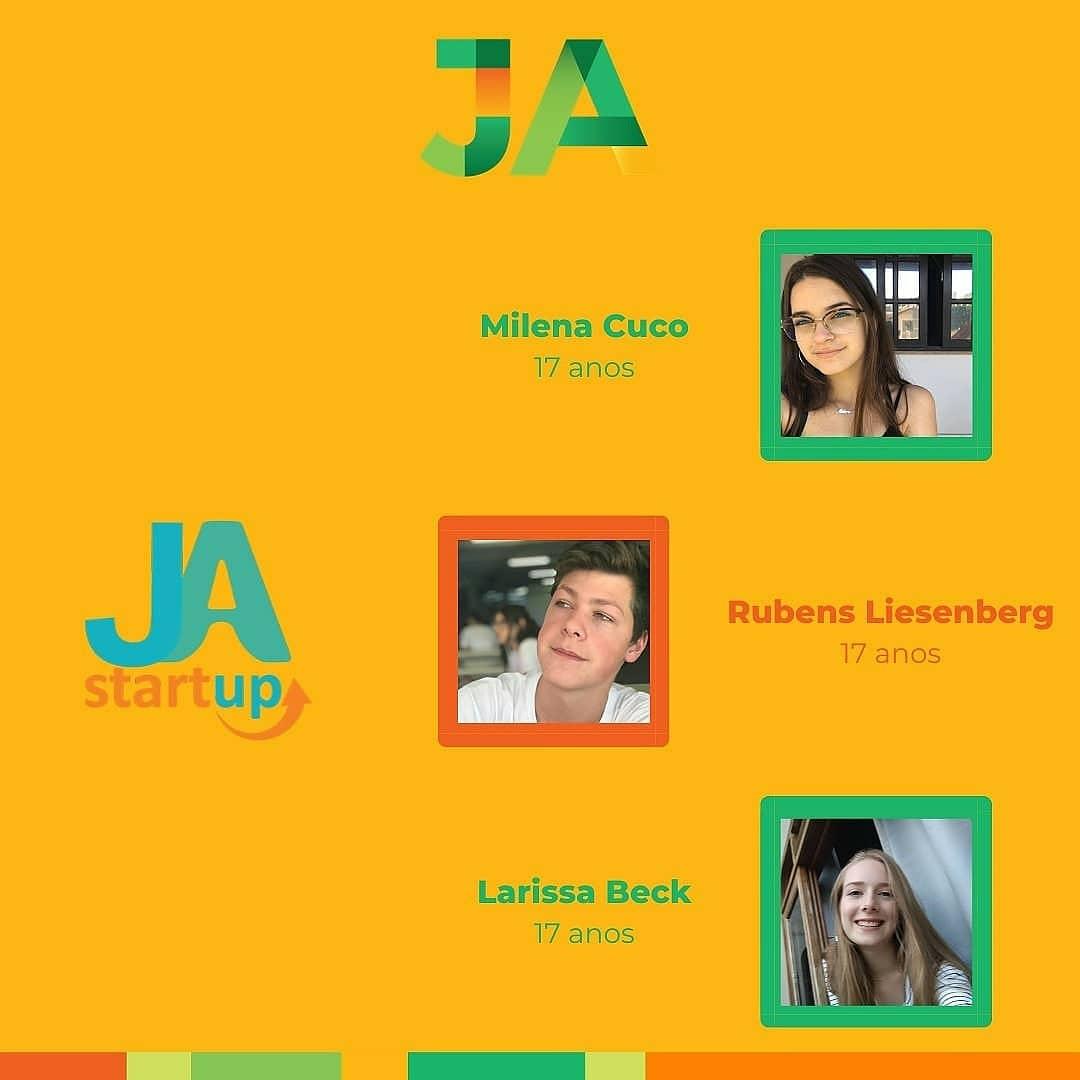 JA Startup online: equipe de SC conquista o segundo lugar!
