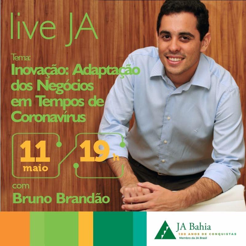 #LIVEJA com Bruno brandão