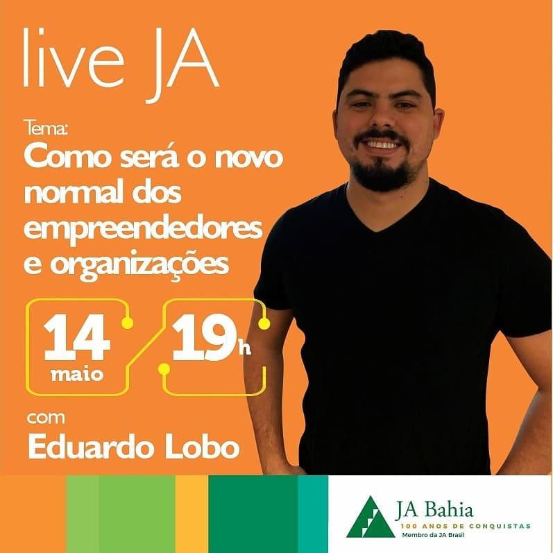 #LIVEJA com Eduardo Lobo