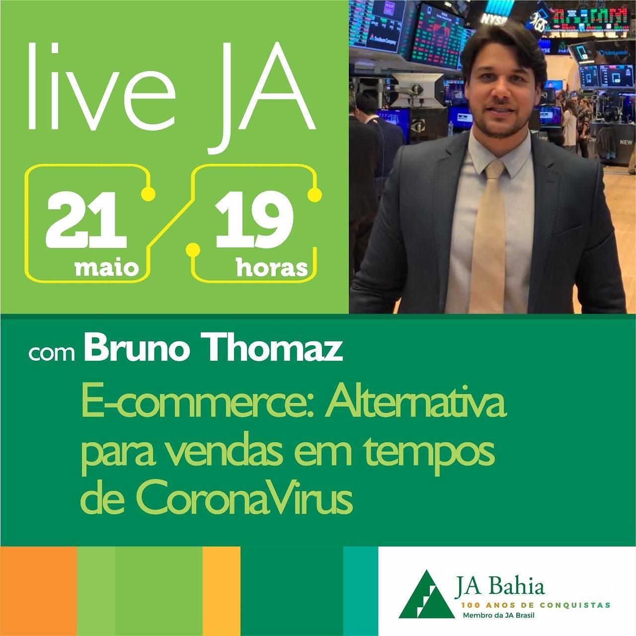 #LIVEJA com Bruno Thomaz