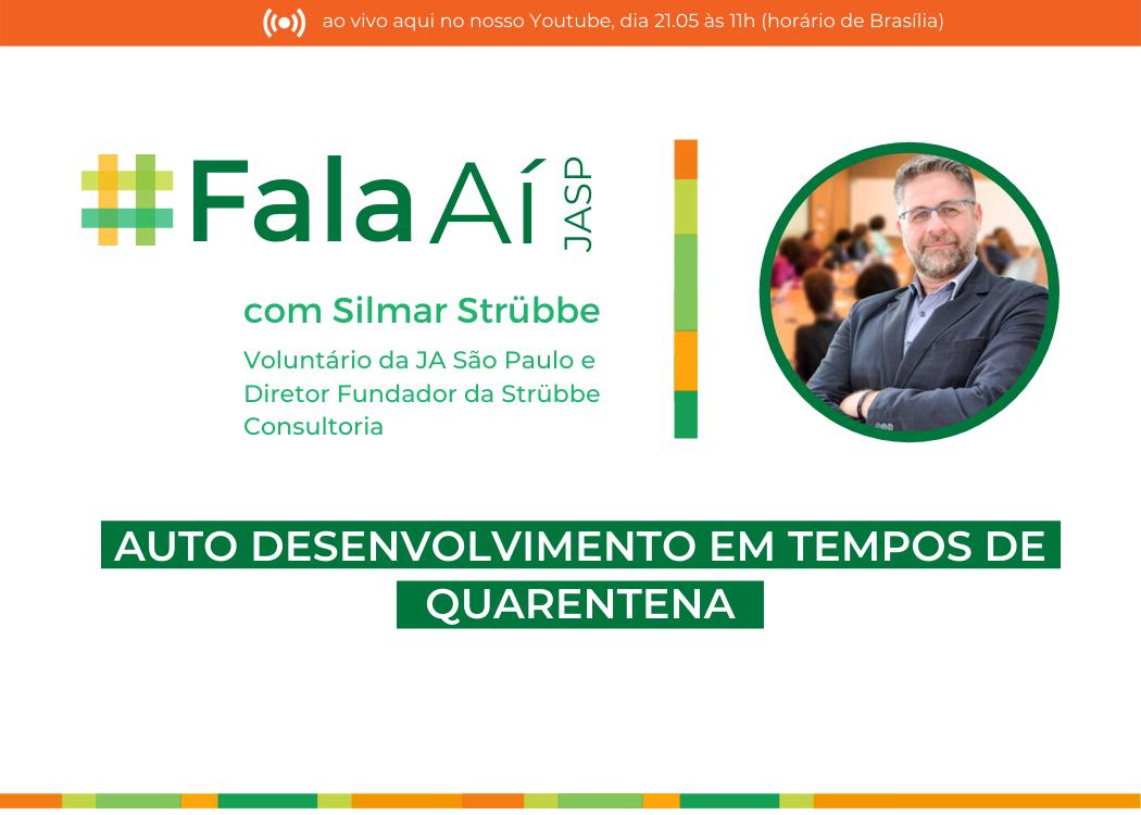 #FalaAíJASP com Silmar Strübbe - 21.05 às 11h