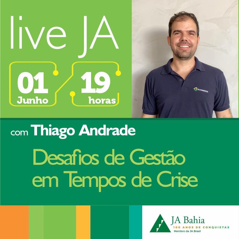 #LIVEJA com Thiago Andrade
