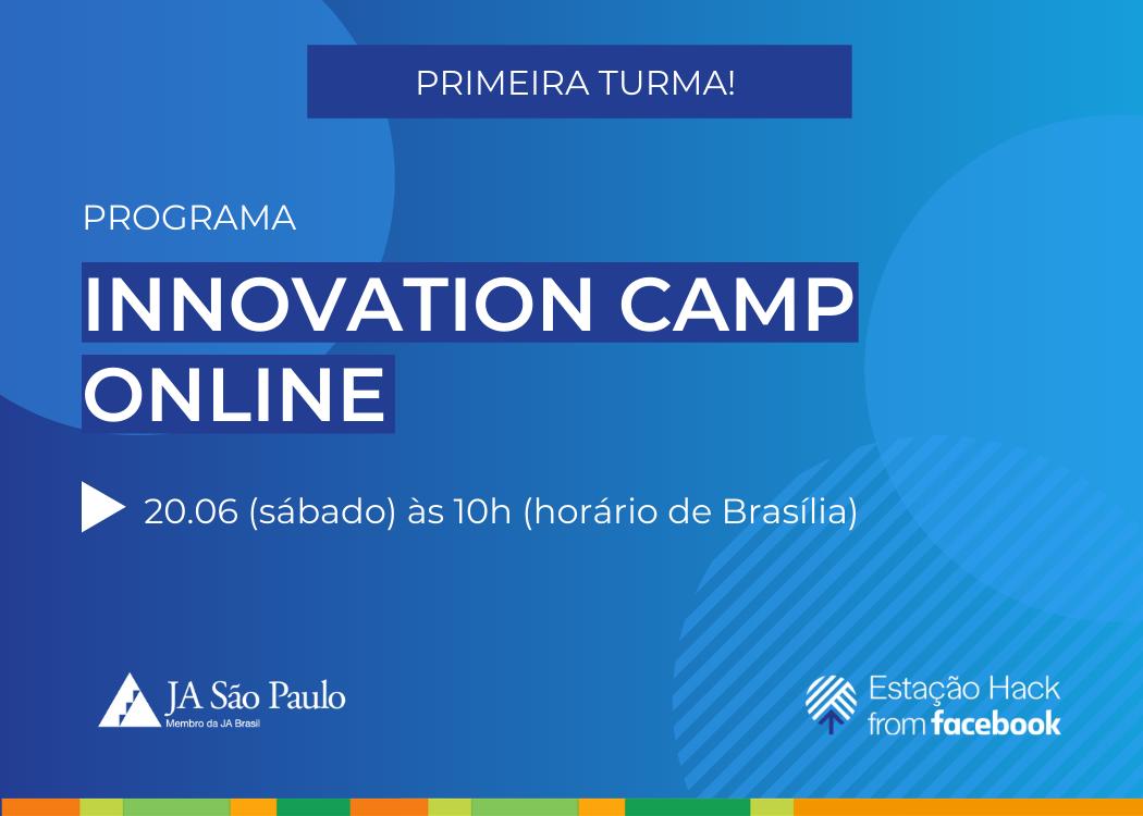 Programa Innovation Camp Online com a Estação Hack