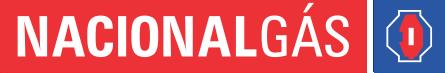 Logotipo nacional gas