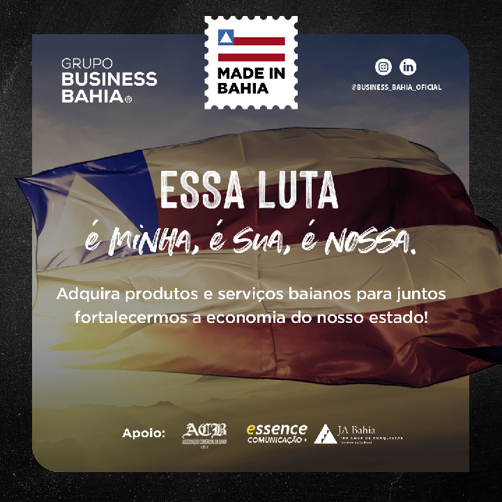 Campanha Made de IN Bahia- Essa luta é minha, é sua, é nossa
