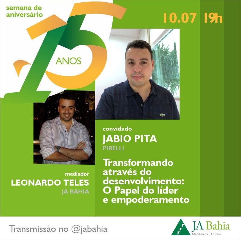 #LIVEJA15ANOS com Jabio Pita