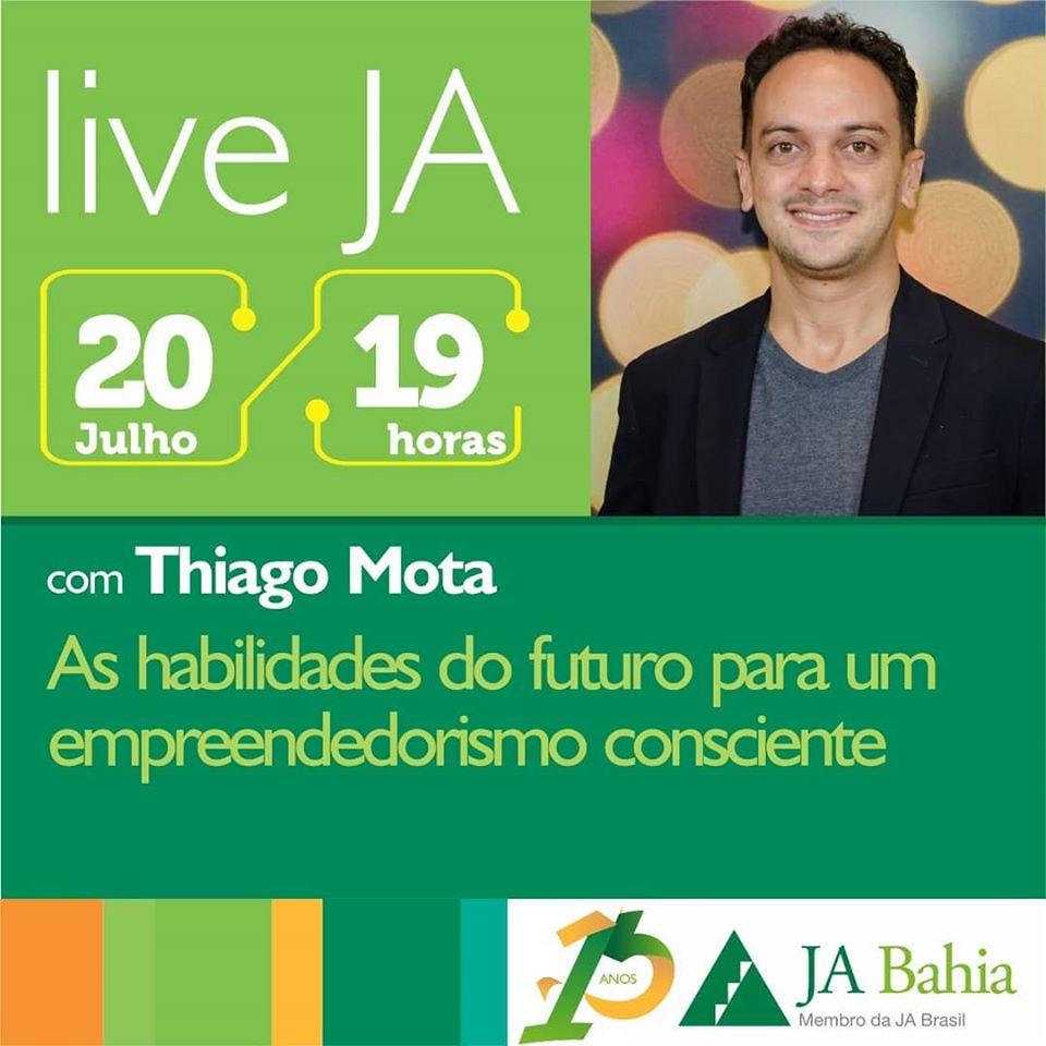 #LIVEJA com Thiago Mota
