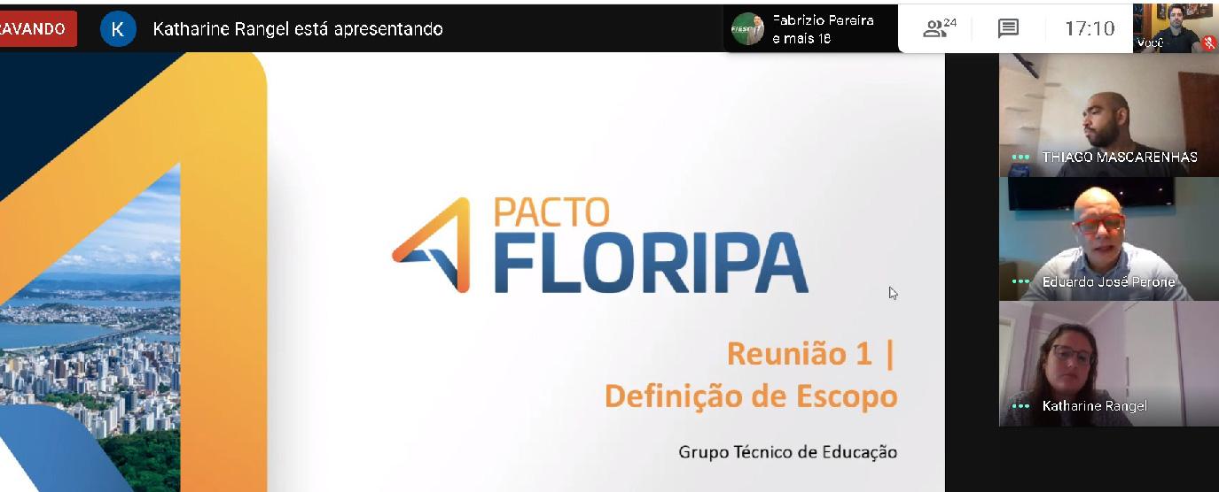 Pacto Floripa - JA é convidada pela ACIF para liderar GT de Educação