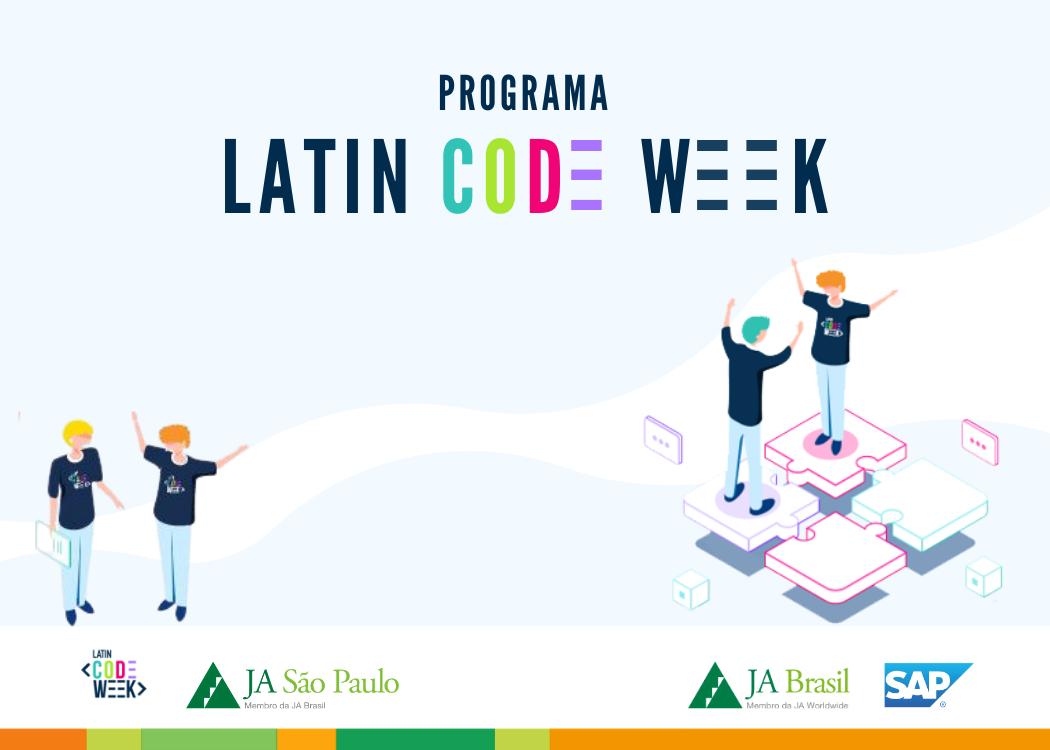 Programa Latin Code Week em parceria com a SAP