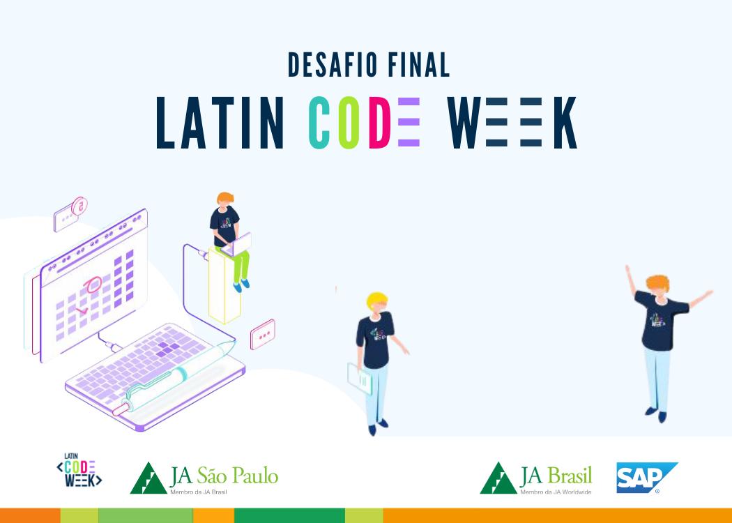 Desafio final do programa Latin Code Week em parceria com a SAP