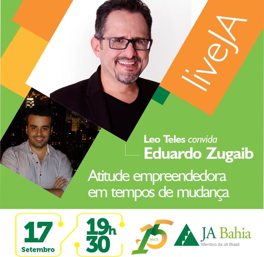 #LIVEJA com Eduardo Zugaib