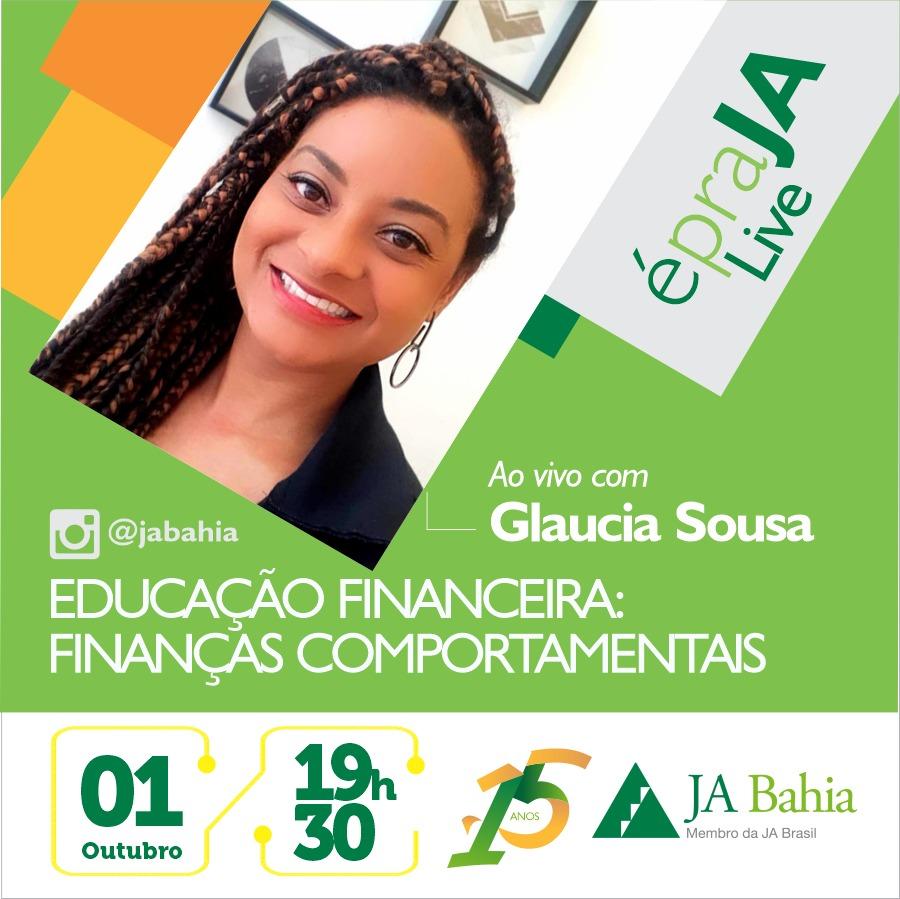 #LIVEJA com Glaucia Sousa
