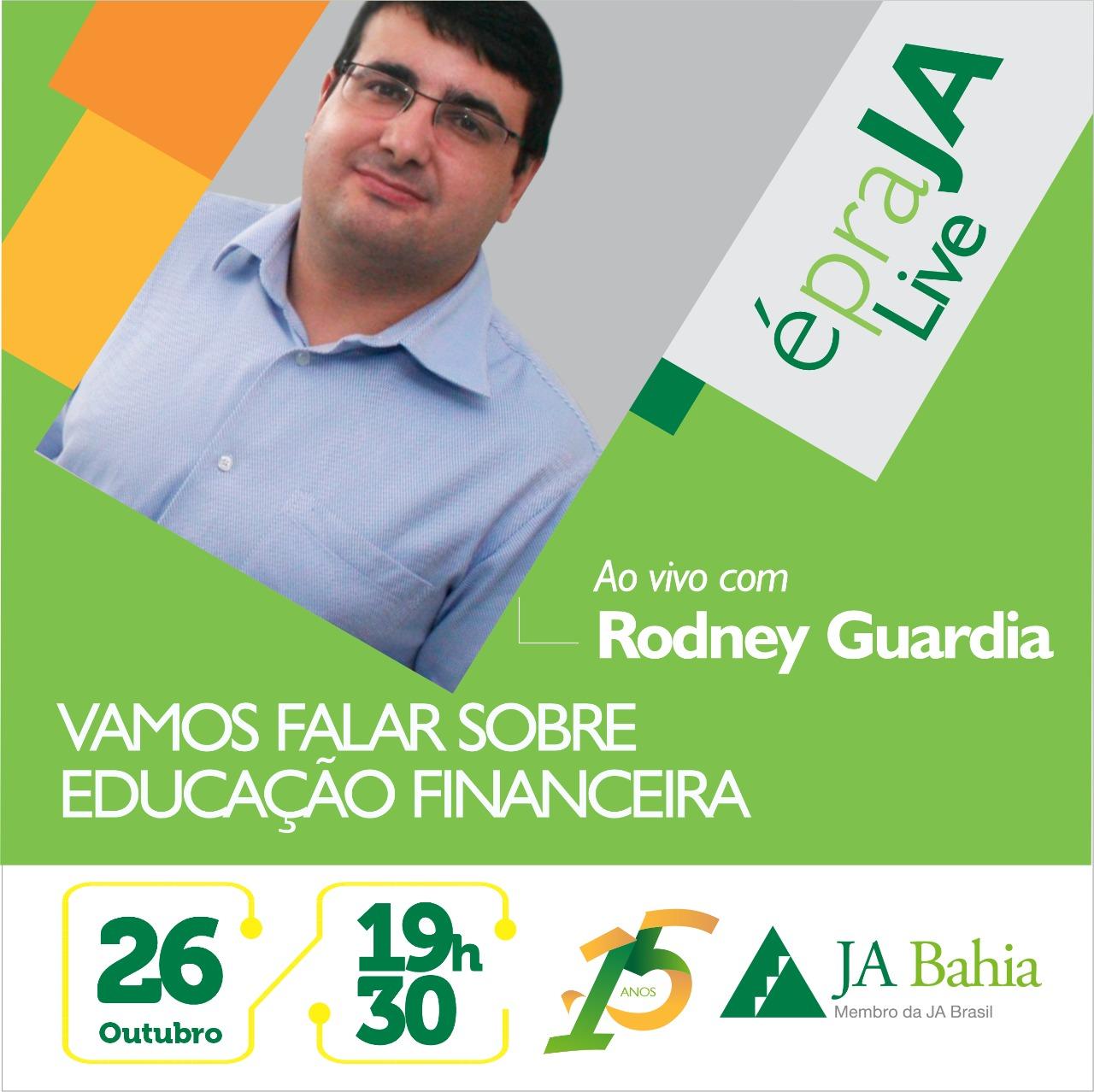 #LIVEJA com Rodney Guardia