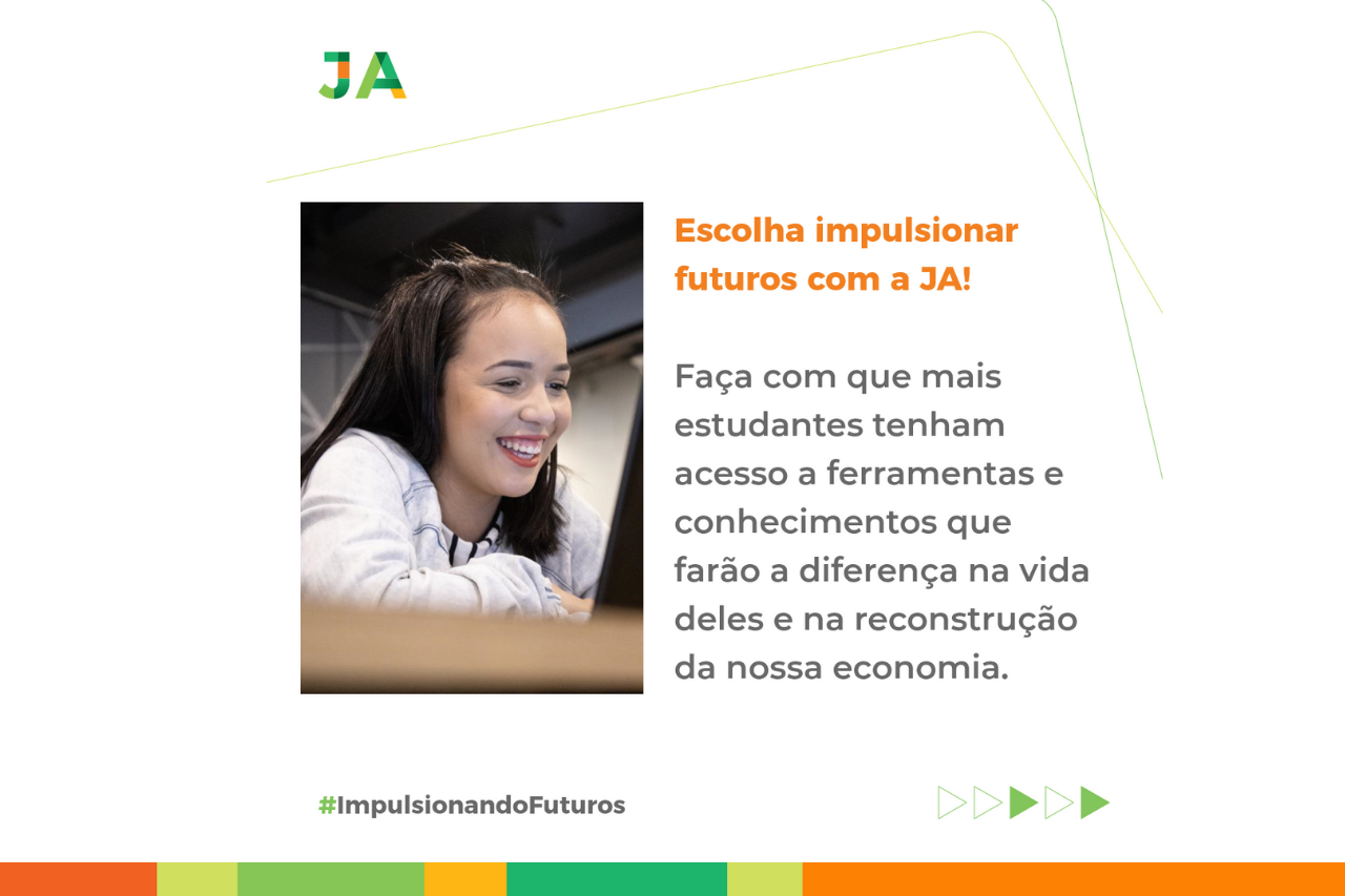 Dia de Doar: JA realiza campanha para impulsionar o futuro de jovens