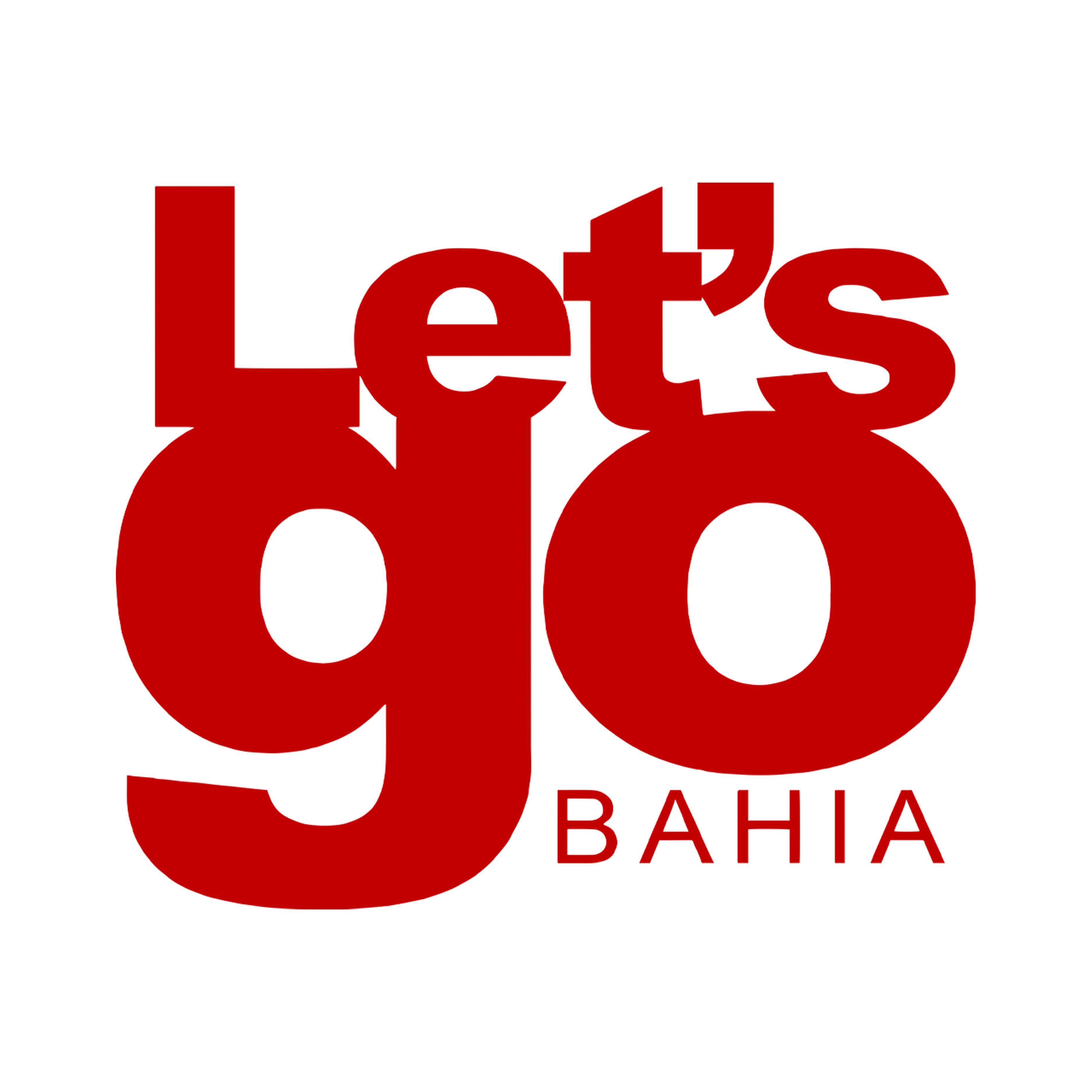 Logotipo Let´s go Bahia