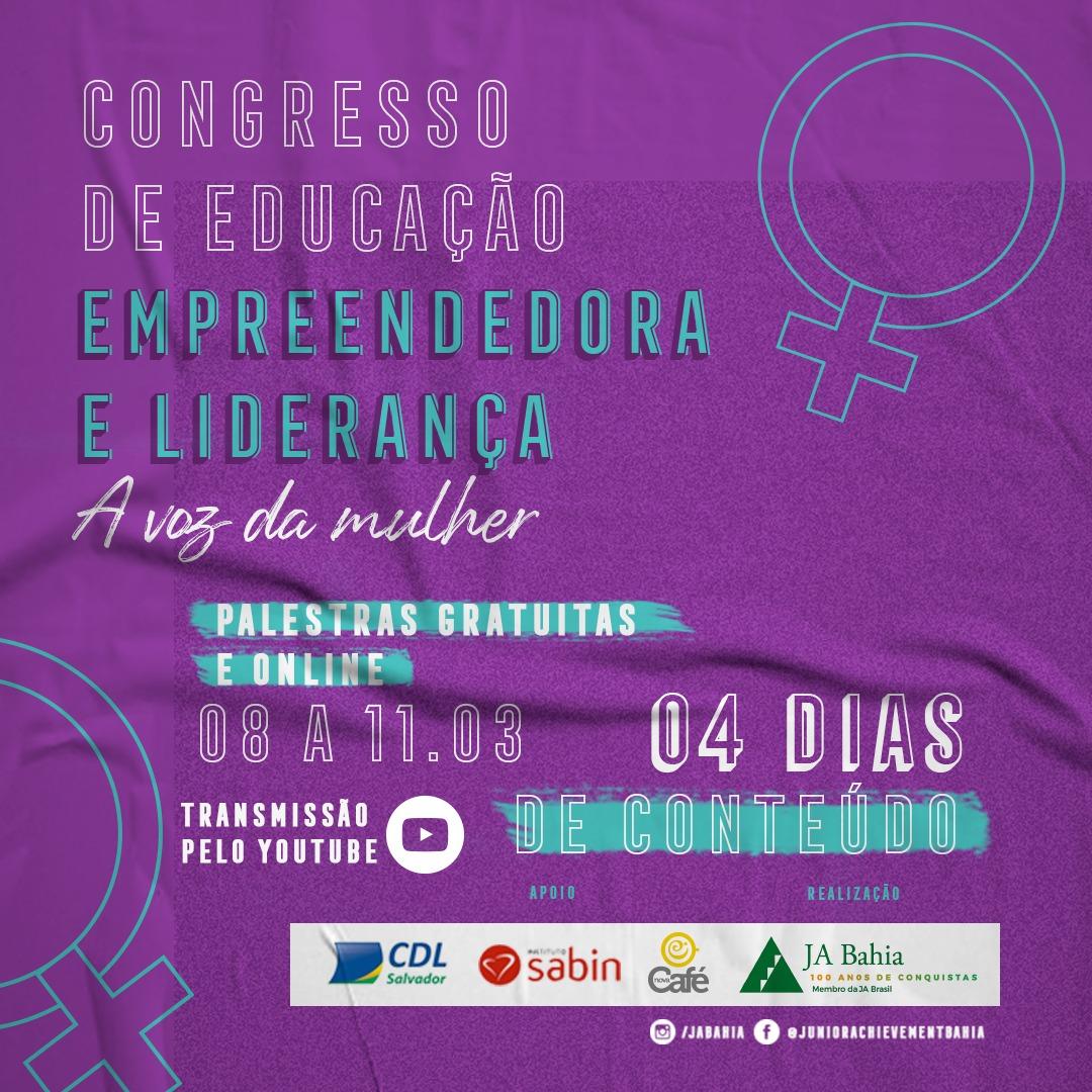 Congresso de Educação e Liderança Empreendedora - A Voz da Mulher