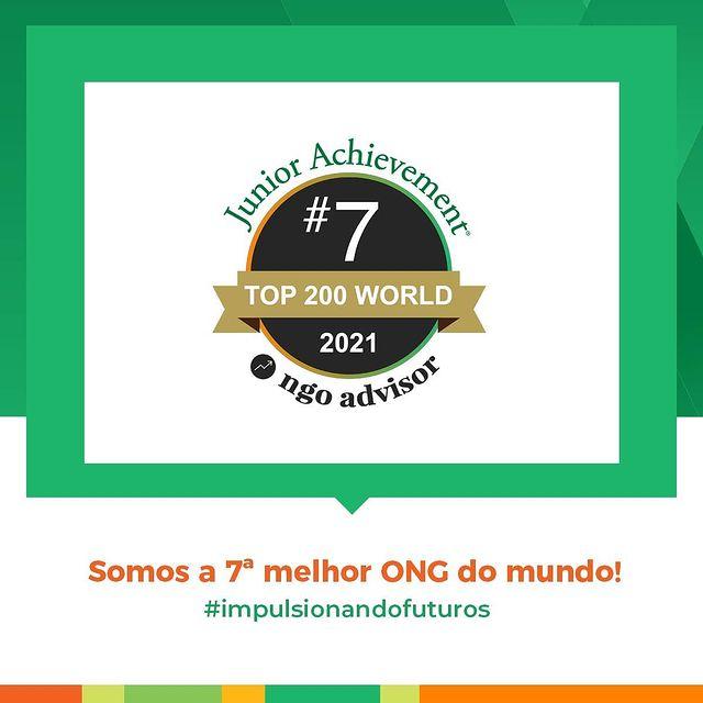 JA é eleita a 7ª melhor ONG do mundo