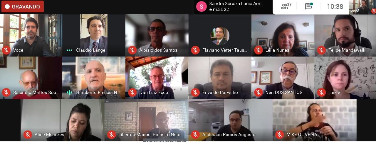 JA Santa Catarina participa da reunião do Conselho Municipal de Educação