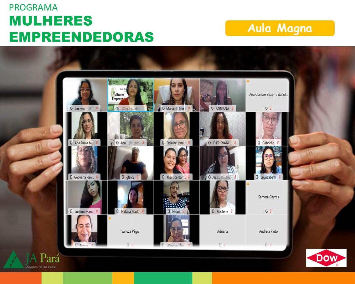Parceria JA Pará e Dow beneficiam mulheres empreendedoras de Breu Branco e Tucuruí-Pa