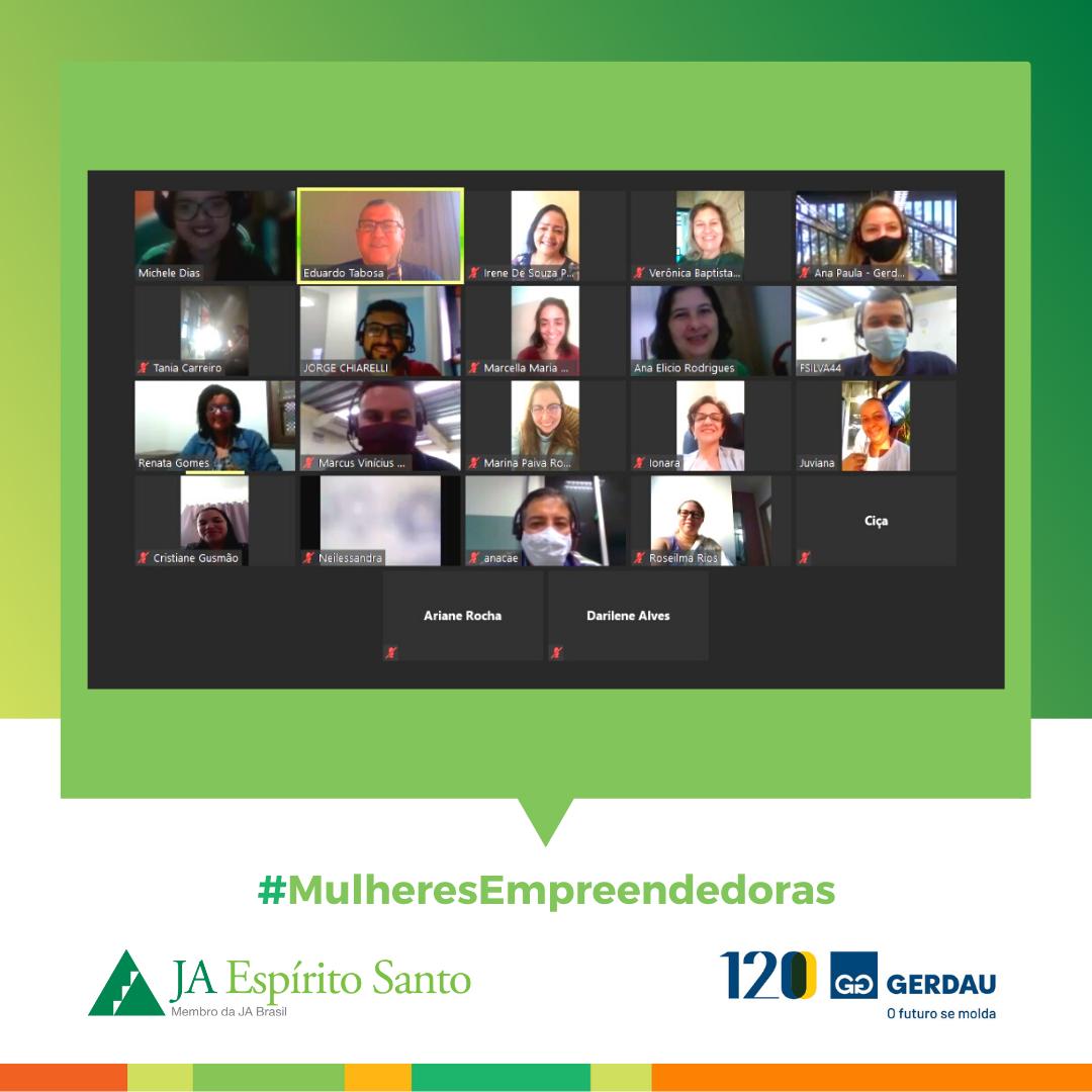 Mulheres Empreendedoras em parceria com a Gerdau