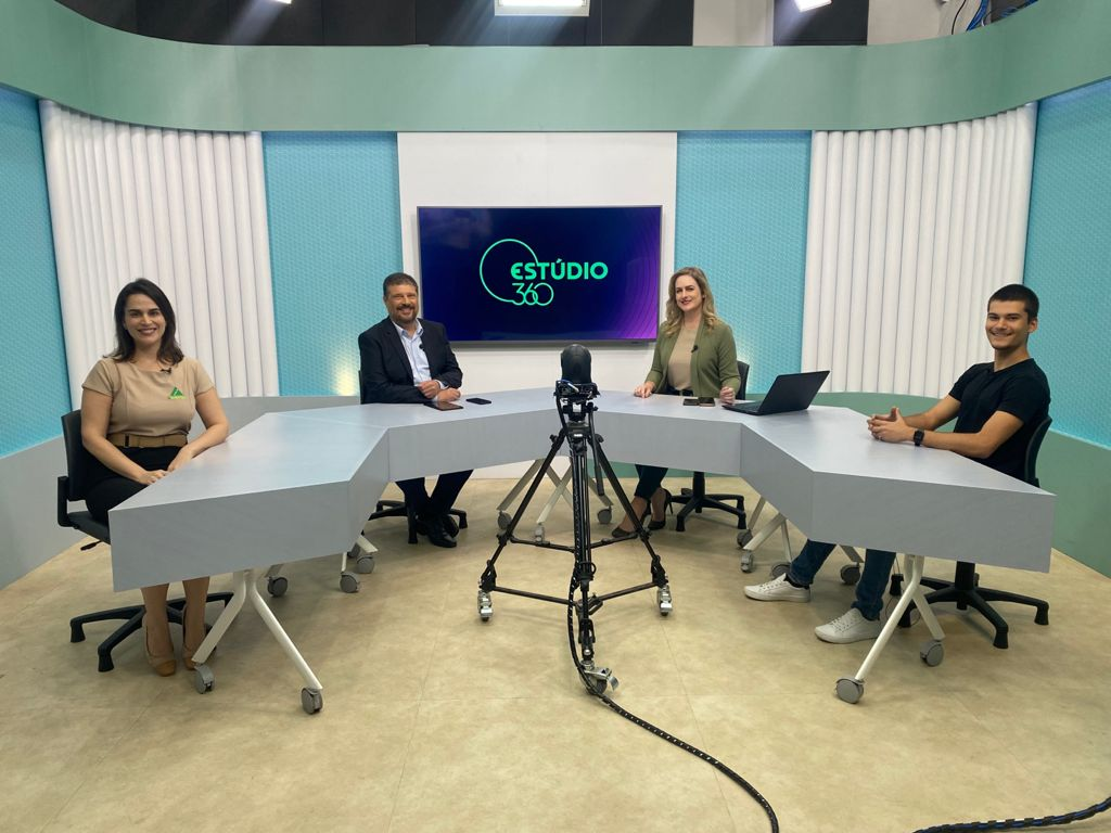 JAES participa do Estúdio 360 da TV Capixaba