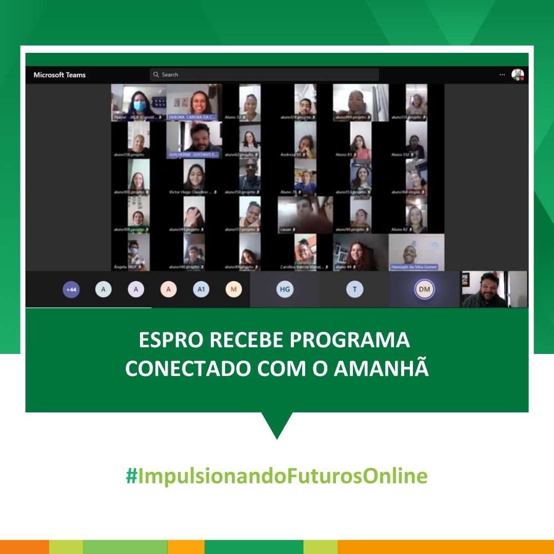 ESPRO recebe programa Conectado com o Amanhã