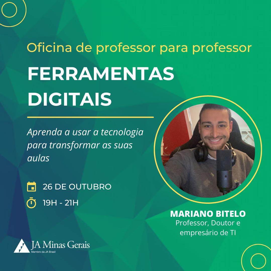 JA Minas Gerais oferece oficina gratuita de ferramentas digitais para professores